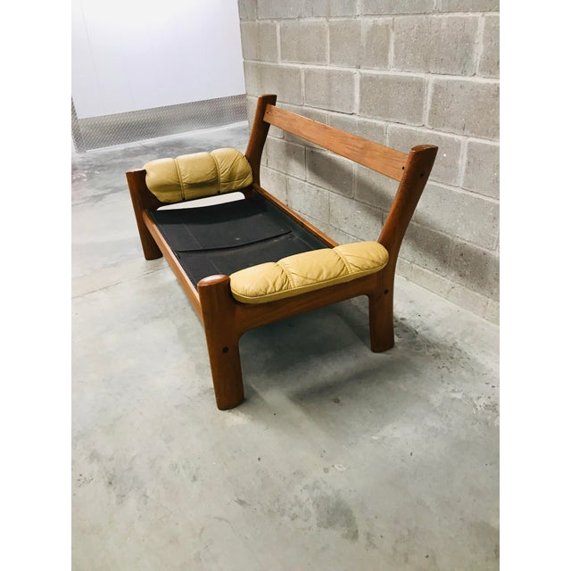Ekornes ASA 1970s Vintage Ekornes Stressless Montana Solid Teak Loveseat and Sofa - 2 Pieces For Sale - Image 4 of 13