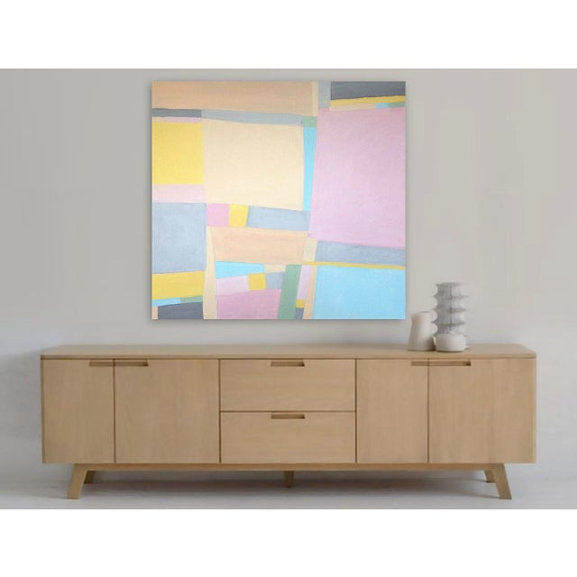 'Jane Says' Original Abstract Painting by Linnea Heide For Sale - Image 6 of 8