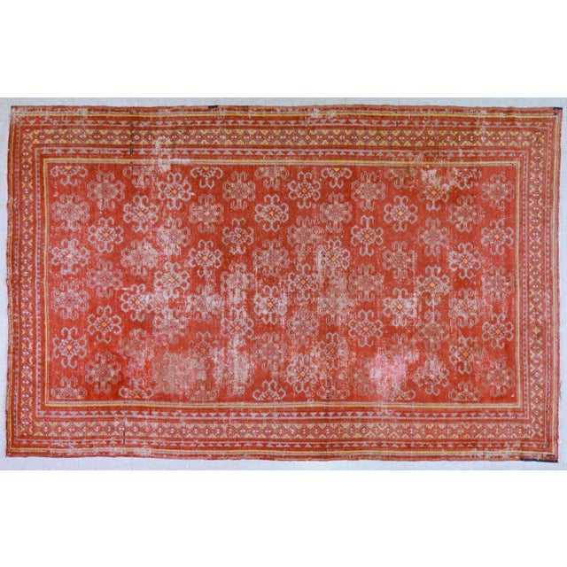 """Antique Khotan Rug,6'6""""x10'2"""" For Sale In New York - Image 6 of 6"""