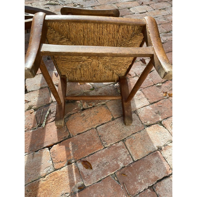 Antique Prayer Chairs - a Pair For Sale - Image 11 of 13