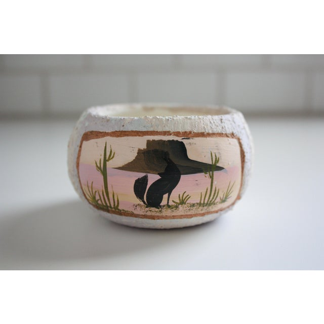 Painted Native American Pot - Image 2 of 8