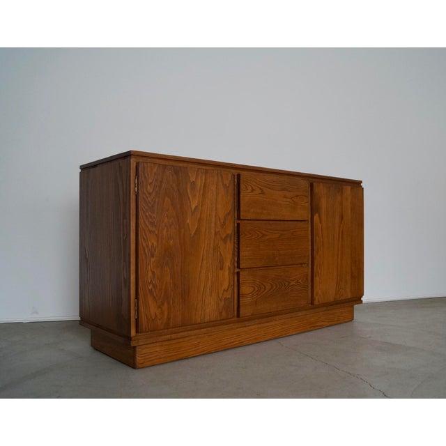 Paul Frankl 1940s Danish Modern Refinished Sideboard For Sale - Image 4 of 13