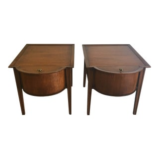 1970s Danish Mid Century Modern Side Tables - a Pair For Sale