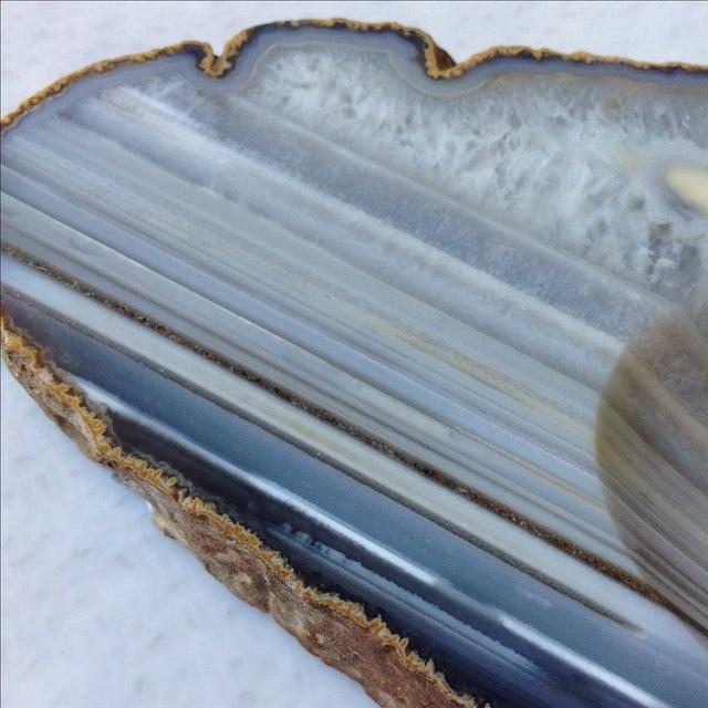 Striped Agate Quartz Dish - Image 6 of 11