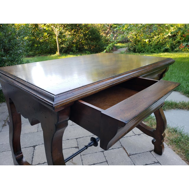 Traditional Port Eliot 2-Drawer Wooden Side Table For Sale - Image 4 of 8