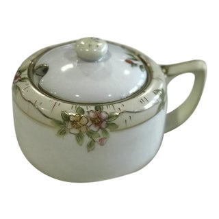 Hand-Painted Nippon Sugar Bowl