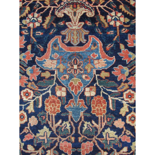Early 20th Century Fereghan Sarouk in Rich Autumnul Colors For Sale - Image 5 of 6