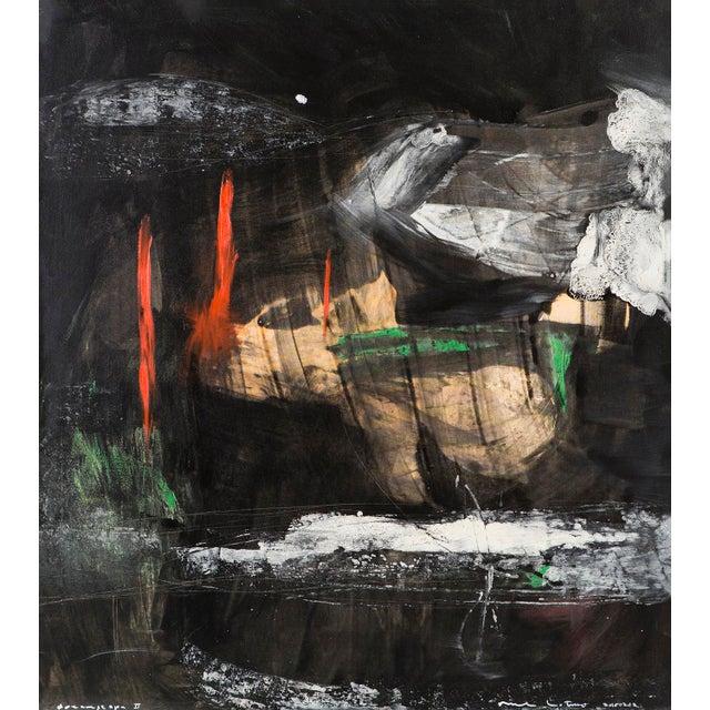 "Abstract Michael Lotenero, ""Dreamscape II"" For Sale - Image 3 of 8"