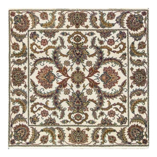 Traditional Hand Woven Wool Rug - 6'1 X 6'1