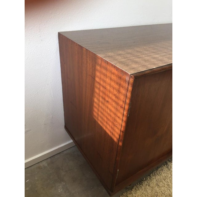 Metal Final Markdown- Danish Mid-Century Modern Formica Credenza For Sale - Image 7 of 10
