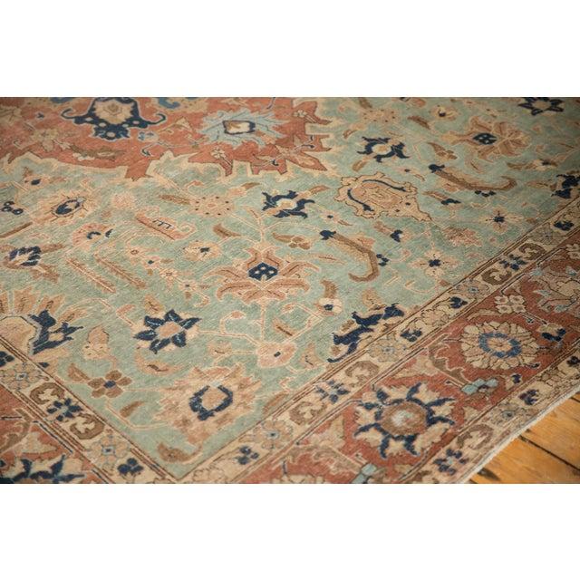 "Vintage Distressed Tabriz Carpet - 8'5"" X 10'7"" For Sale In New York - Image 6 of 12"