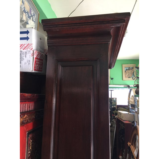 2000 - 2009 Rustic Solid Walnut Bookcase For Sale - Image 5 of 11