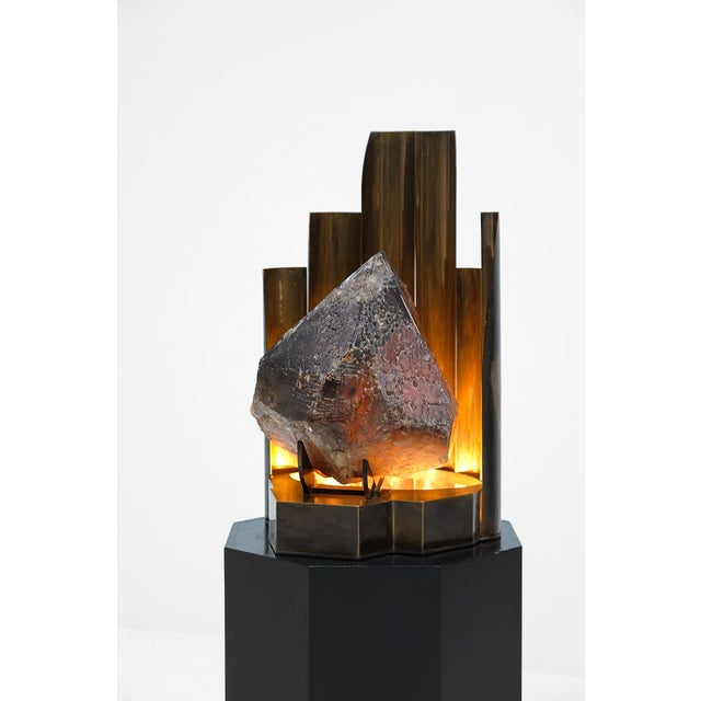 CHRISTIAN KREKELS QUARTZ PROTOTYPE LAMP - Image 4 of 11