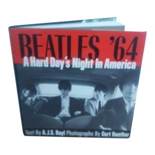 "Beatles '64 ""Hard Days Night in America"" Book For Sale"