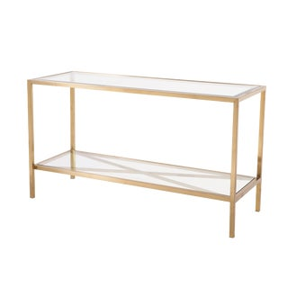 Blink Home Gold Console Table