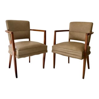 French Modern Chairs - a Pair