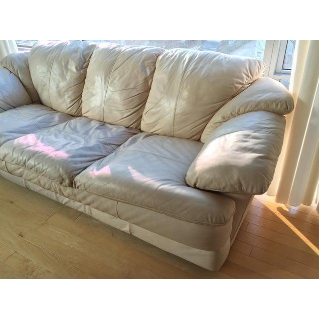 Natuzzi Italian Leather Sofa - Image 6 of 11