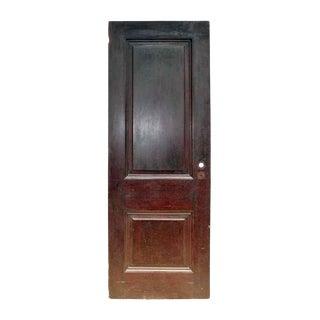 Antique Two Panel Wood Door
