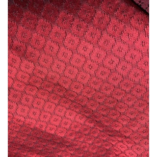 Drapery Upholstery Fabric Roebling Dobby CL Oxblood Pattern No. Lfy67180f by Ralph Lauren For Sale