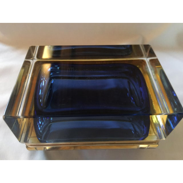 1960s 1960s Sommerso Murano Glass Jewelry Box For Sale - Image 5 of 7