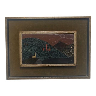 Richard Blow for Montici Pietra Dura Painting For Sale