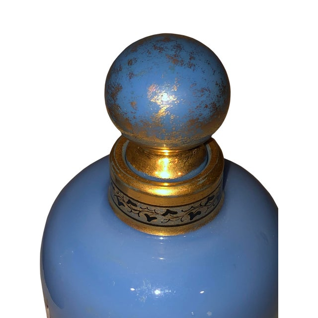 Antique Opaline Perfume Bottles - a Pair For Sale In Dallas - Image 6 of 8