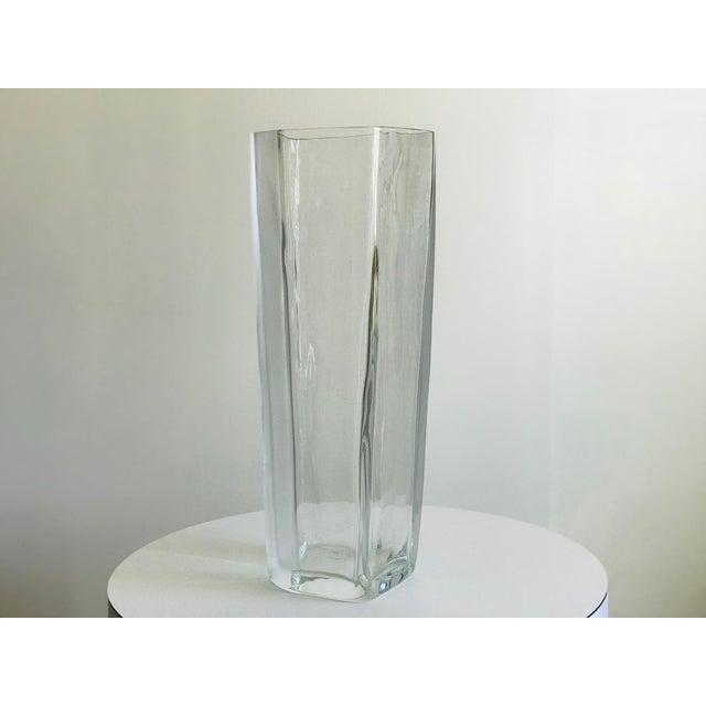 Carlo Moretti Italian Blown Glass Vase For Sale In Palm Springs - Image 6 of 8