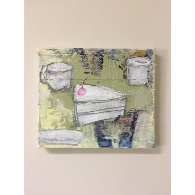 """Christine Bush Roman """"Piece of Cake"""" Painting - Image 2 of 5"""