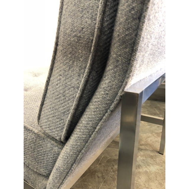 Early Florence Knoll Designed Slipper Chairs - a Pair For Sale - Image 10 of 13