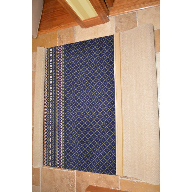 An original rug from Laura Ashley. This rug was purchased in Canterbury England at the Laura Ashley store and hand carried...