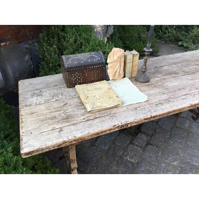 19th Century 19th C Spanish Fratina Table For Sale - Image 5 of 8