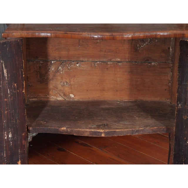 Wood Petit Louis XV Cabinet For Sale - Image 7 of 12