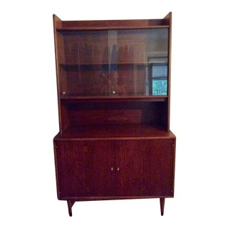 Mid Century Modern Lane China Cabinet For Sale