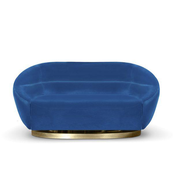 Mansfield is an accent sleek sofa with an undeniable modern elegance. Its rounded forms are a striking addition to any...