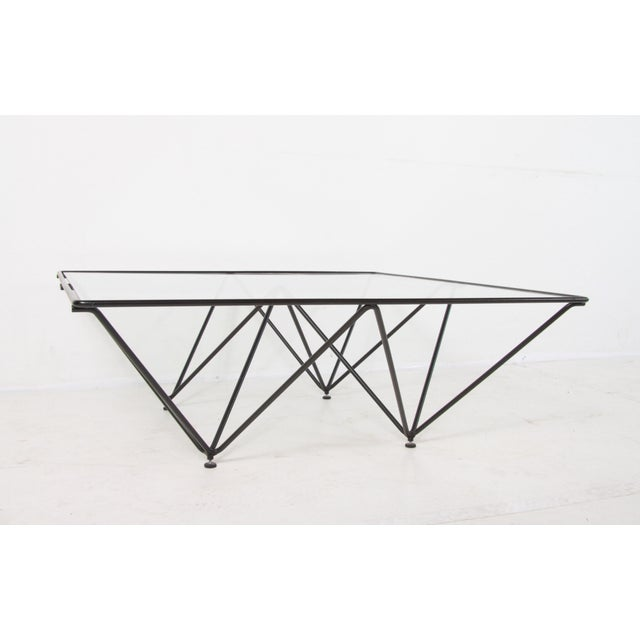 Metal 1980s Paolo Piva Alanda Style Coffee Table For Sale - Image 7 of 11