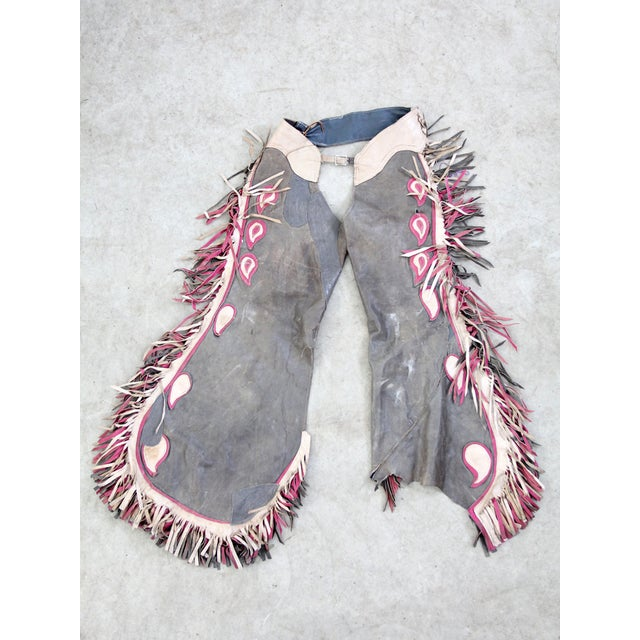 Vintage 1950s Western Chaps - Image 2 of 6