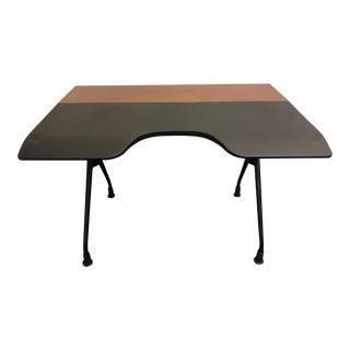 "Herman Miller ""Envelop"" Walnut Veneer Desk"