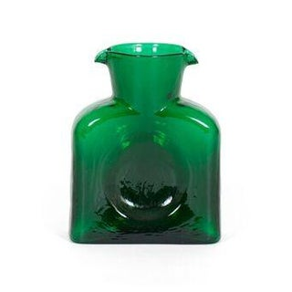 Blenko Pitcher in Emerald For Sale