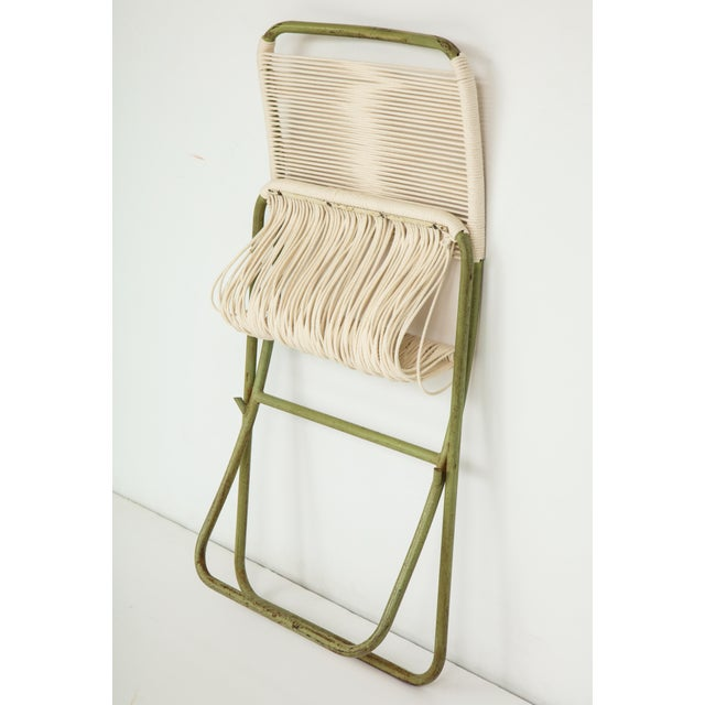 1950s Greta Grossman Folding Chairs - a Pair For Sale - Image 10 of 13
