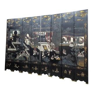 Antique Coromandel Screen For Sale