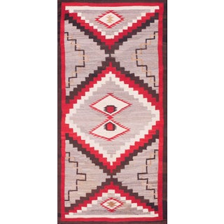 "Antique Navajo Rug 3'10"" X 7'4"" For Sale"