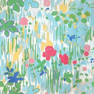 Scalamandre La Fenetre Ouverte Fabric Sample For Sale