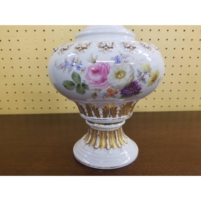 Meissen Porcelain Covered Bottle Vase For Sale - Image 9 of 13