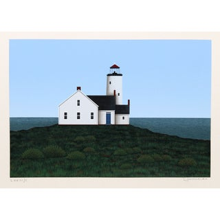 Theodore Jeremenko - Lighthouse II Silkscreen