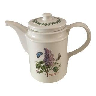 1990s Portmeirion Botanical Garden Coffee Pot For Sale