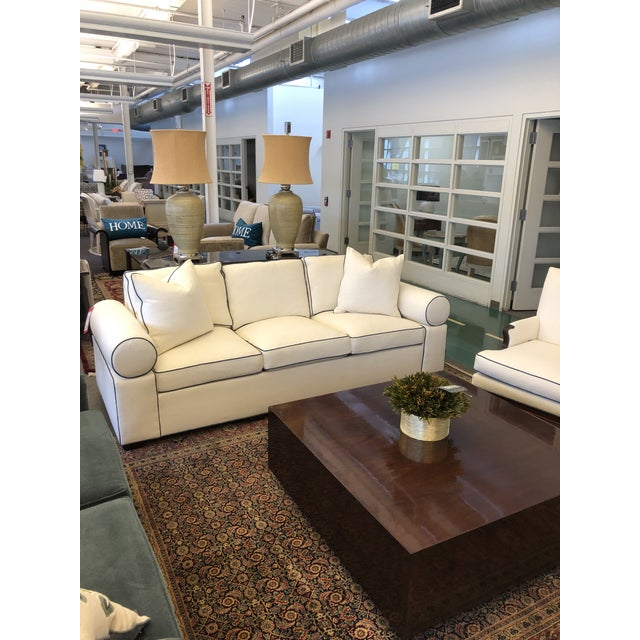 2010s Modern Hickory Kennedy Sofa For Sale - Image 5 of 9