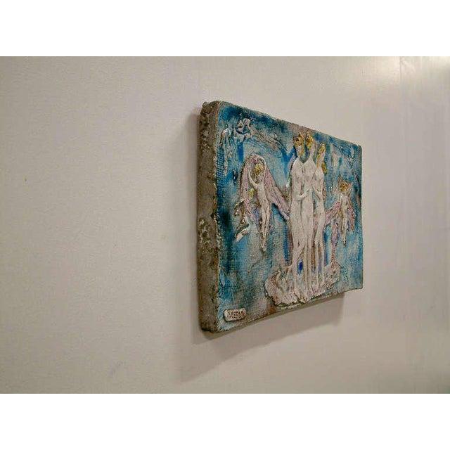 Ugo Lucerni Majolica Wall Relief - Image 7 of 8