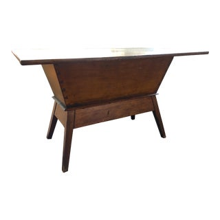 Early American Dough Box Table