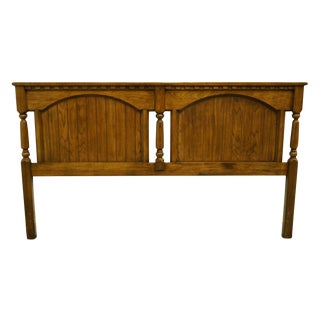 20th Century Italian Provincial Dixie Furniture King Size Headboard For Sale