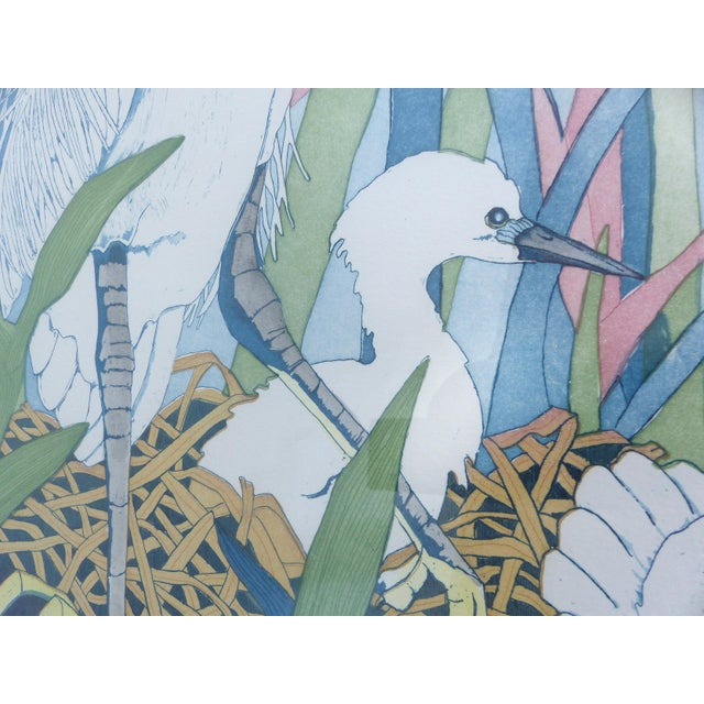 """Judith Hall """"The Rookery"""" Intaglio Print For Sale - Image 4 of 10"""